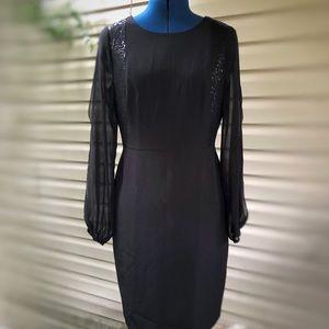 White House Black Market | Black Cocktail Dress